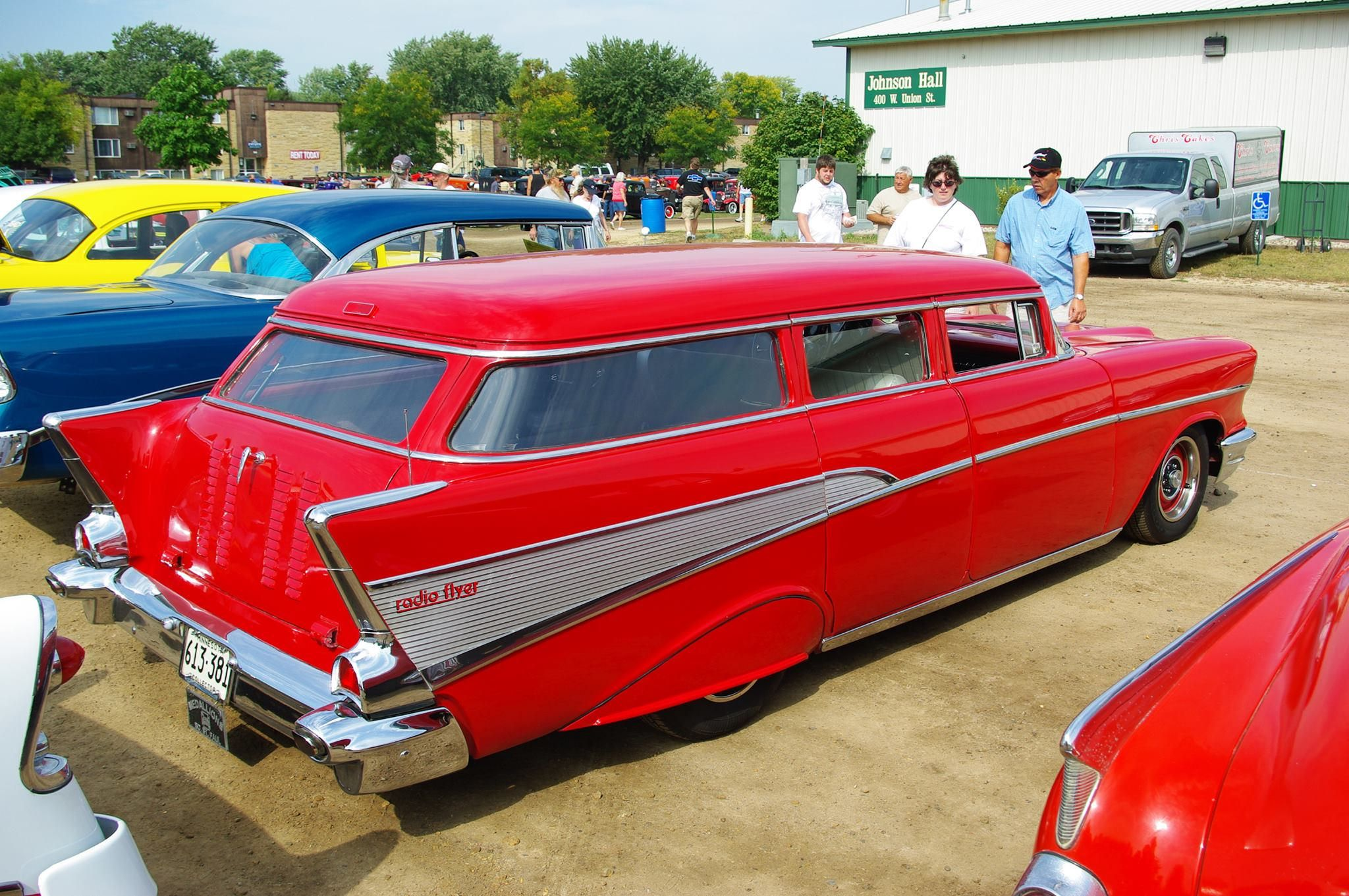 Chopped 57 Wagon | Wagons Rule | 1957 chevrolet, Old wagons