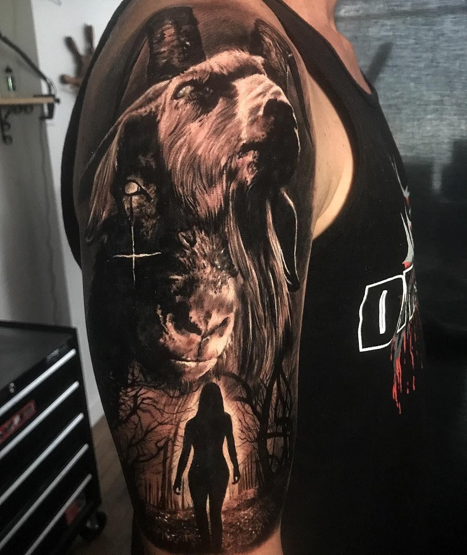 Tattoo Artist Damon Holleis Color And Black And Grey Portrait Tattoo Realism Sydney Australia Tatowierungen Tattoo Vorlagen Biomechanik