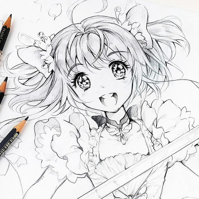 Part of my Childhood - Card Captor Sakura 💕🌸 this will be a DIN A3 ...