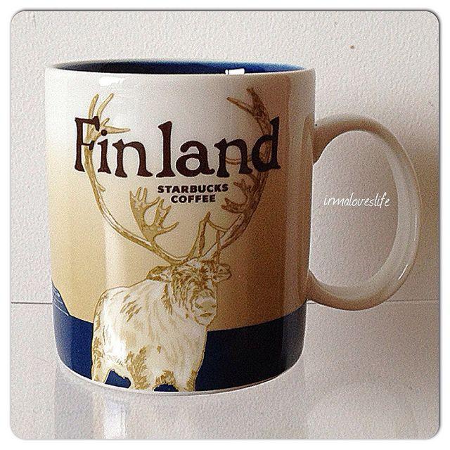 Finland - we finally got a Starbucks here!!!