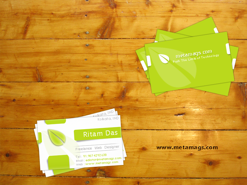 Green Double Sided Business Card Template Psd Business Card Psd Free Business Card Templates