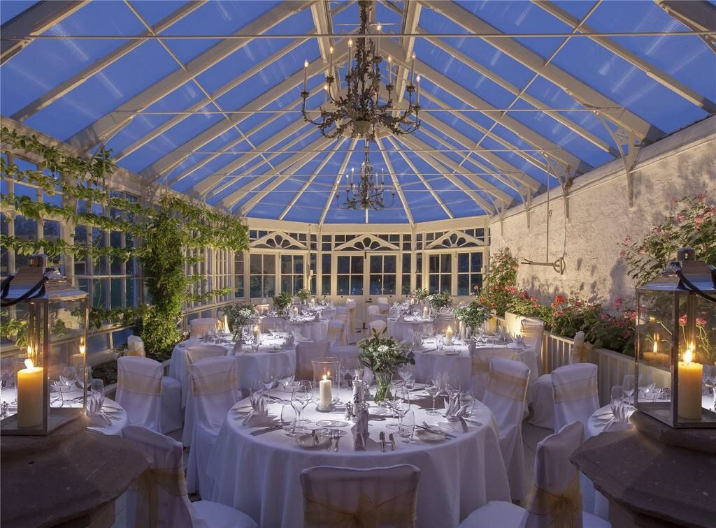 The beautiful conservatory at the Scottish Estate Chiswick