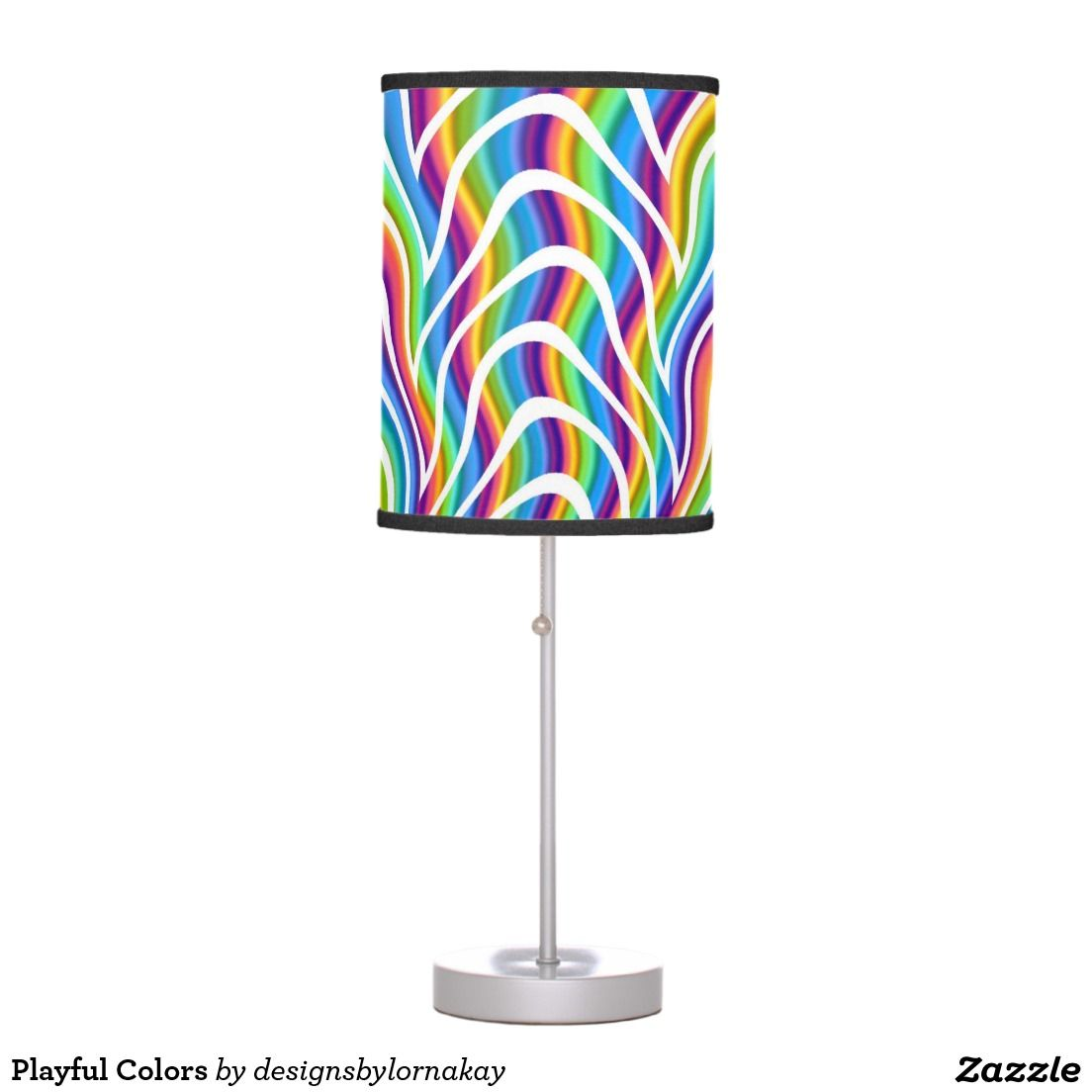 Playful Colors Table Lamp