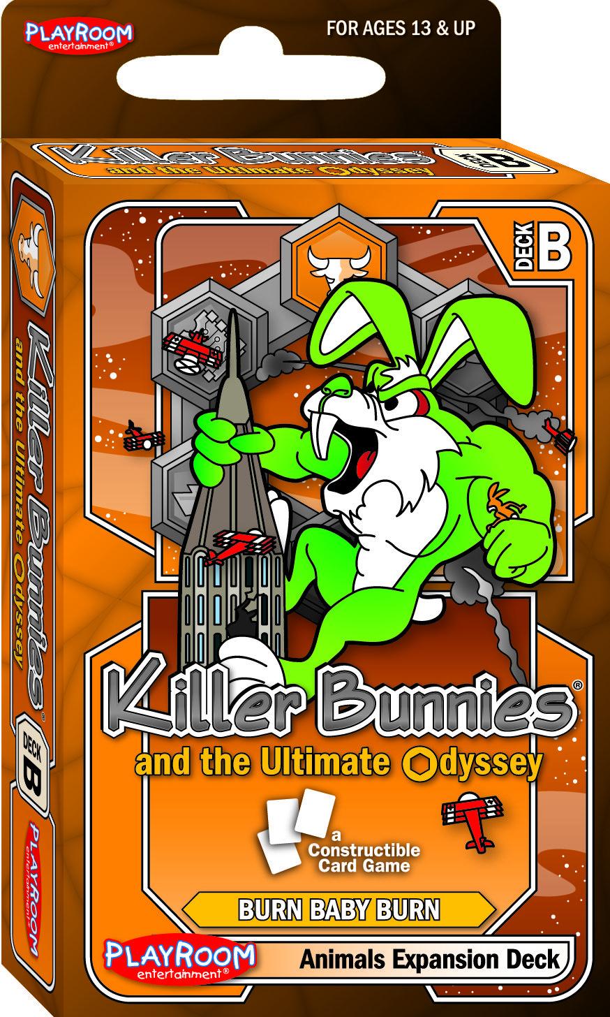 PRE44100 Killer Bunnies GREEN Booster PLE44100 FREE SHIPPING Toys /& Games