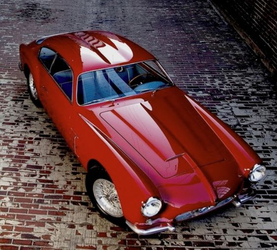 Garage Design Contest By Maserati: 1954 Maserati A6G 2000 Zagato