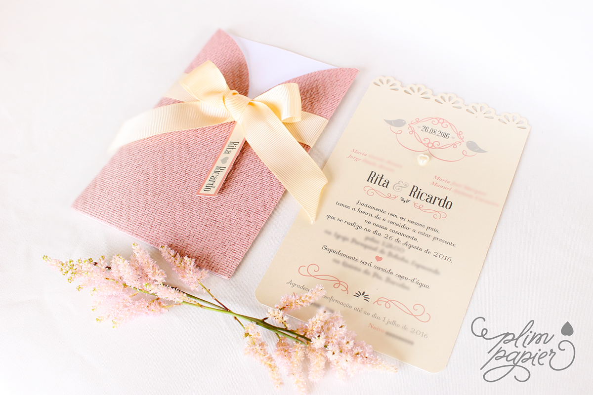 Invitation R&R on Behance | wedding ideas | Pinterest | Wedding and ...