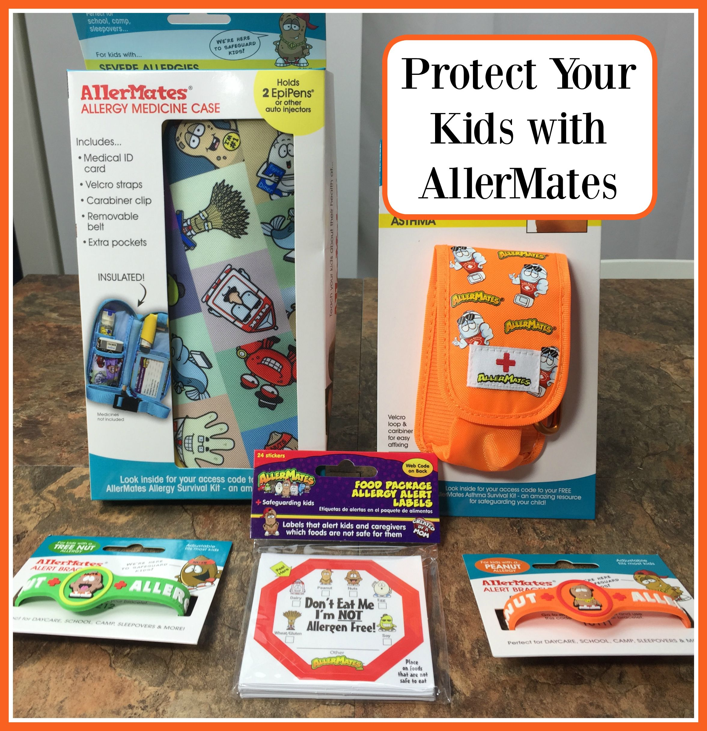 Protect Your Kids with AllerMates #AllerMates #KidsWithAllergies #ad