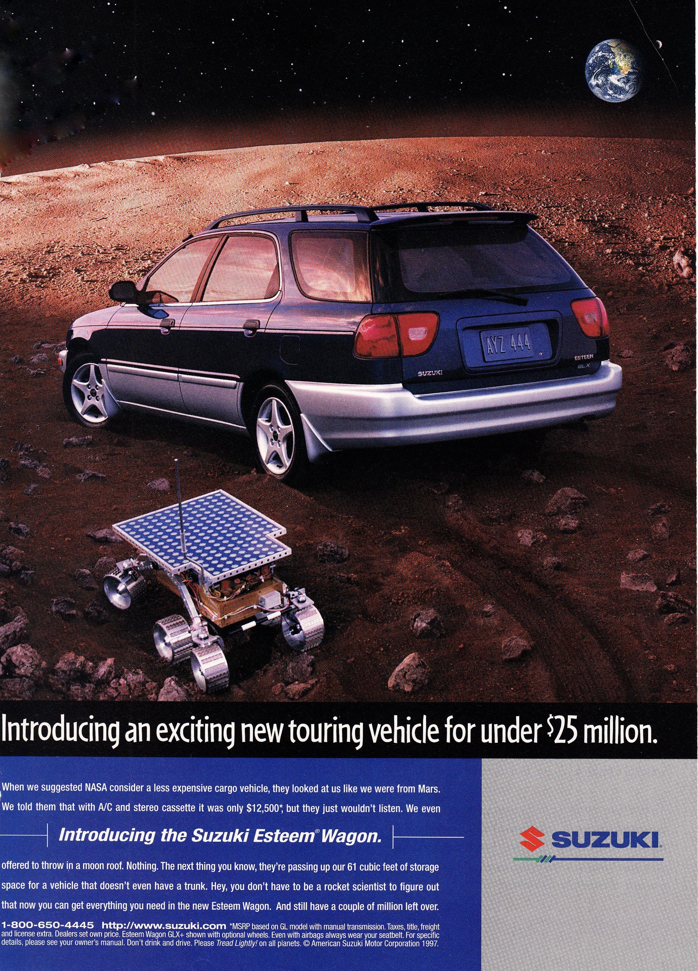 1998 Suzuki Esteem Wagon Wagon Suzuki Vehicles