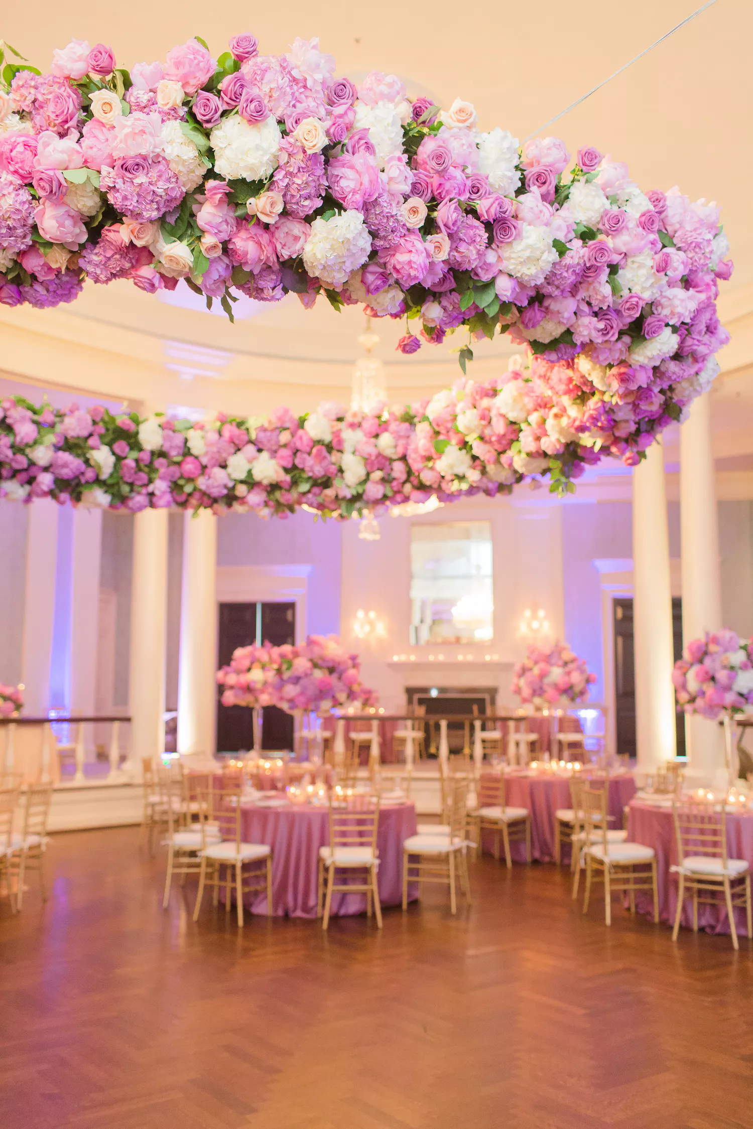 Whats Beautiful Romantic And Pink All Over This Unique Wedding