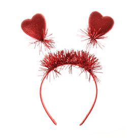 Valentines Day ❤️ Heart Shape Antennas Headband