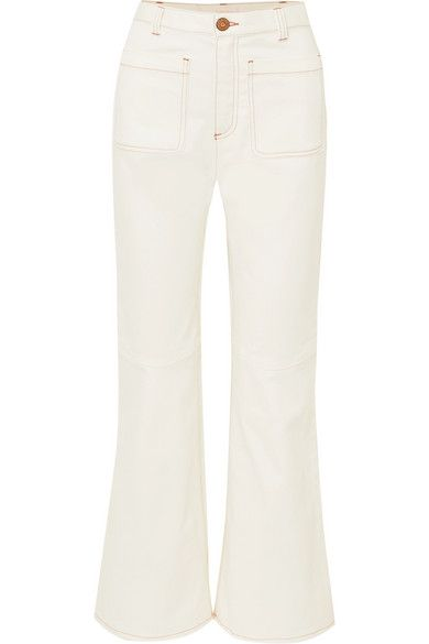 5690b0cc1a See By Chloé - High-rise kick-flare jeans in 2019 | summer clothes ...