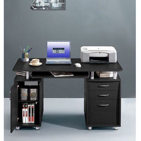 Charmant Techni Mobili Super Storage Computer Desk, Espresso