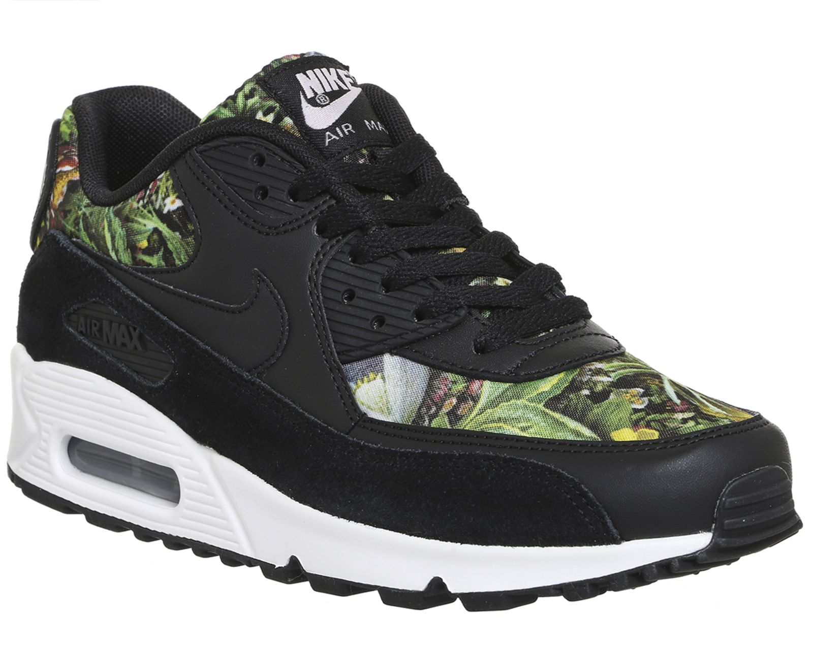 0ecaa0f34d6f Nike Air Max 90 Black Prism Pink Summit White - Unisex Sports