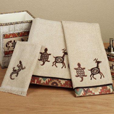 Segovia Southwest Bath Towel Set Towel Set Bath Towel Sets Towel
