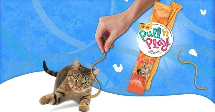Friskies Pull N Play Refills Just 1 00 At Target Friskies Cat Treats Cats
