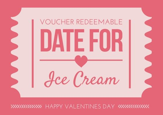 Valentineu0027s Day Date Voucher + 6 Free Printables for Valentineu0027s - how to make a voucher