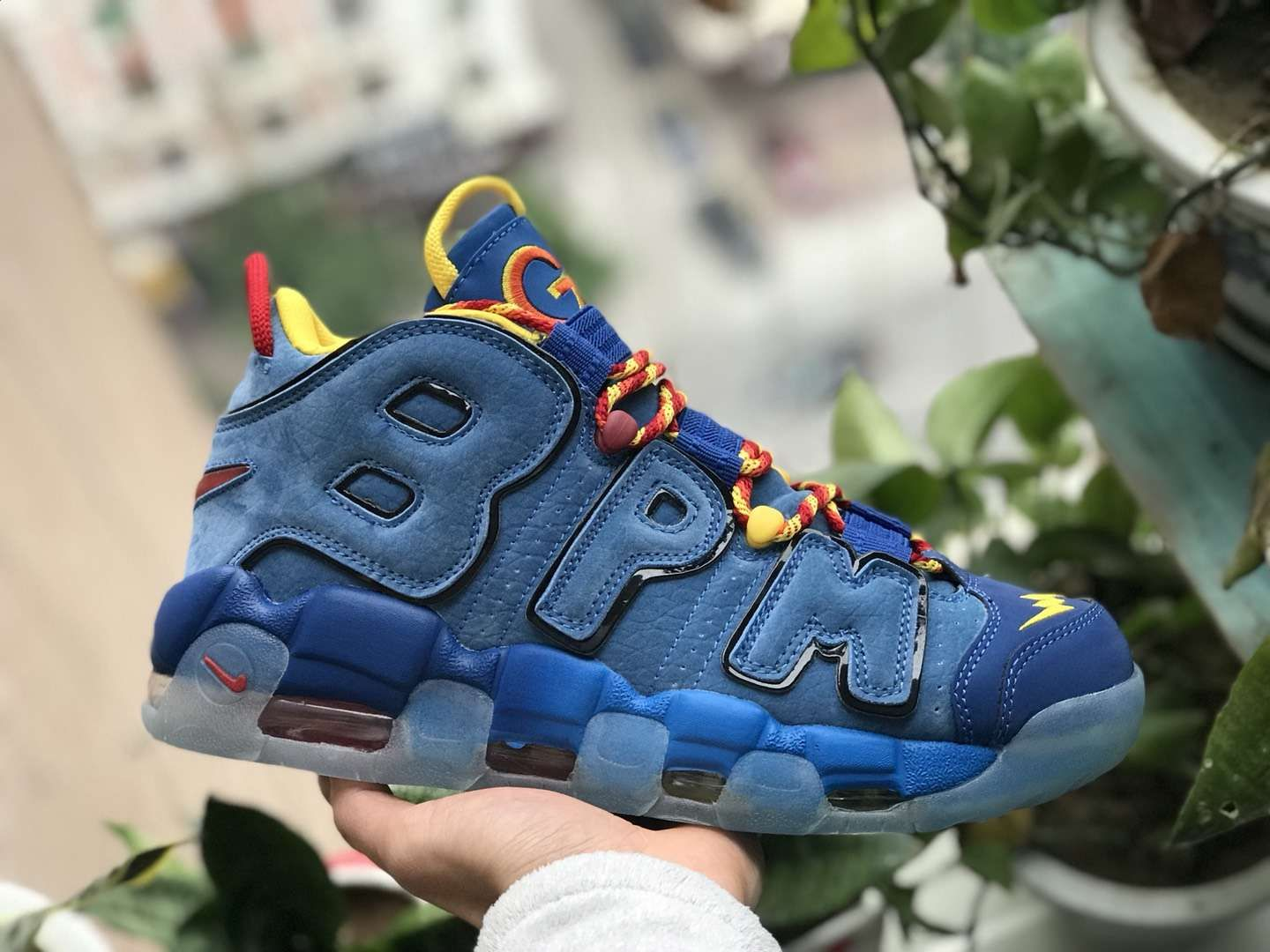 Nike Air More Uptempo Doernbecher 2017