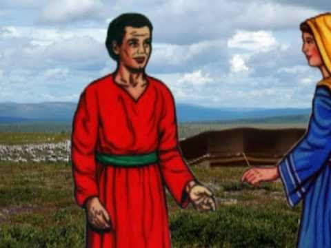 Bible Stories - Jacob Steal Esau's Blessing