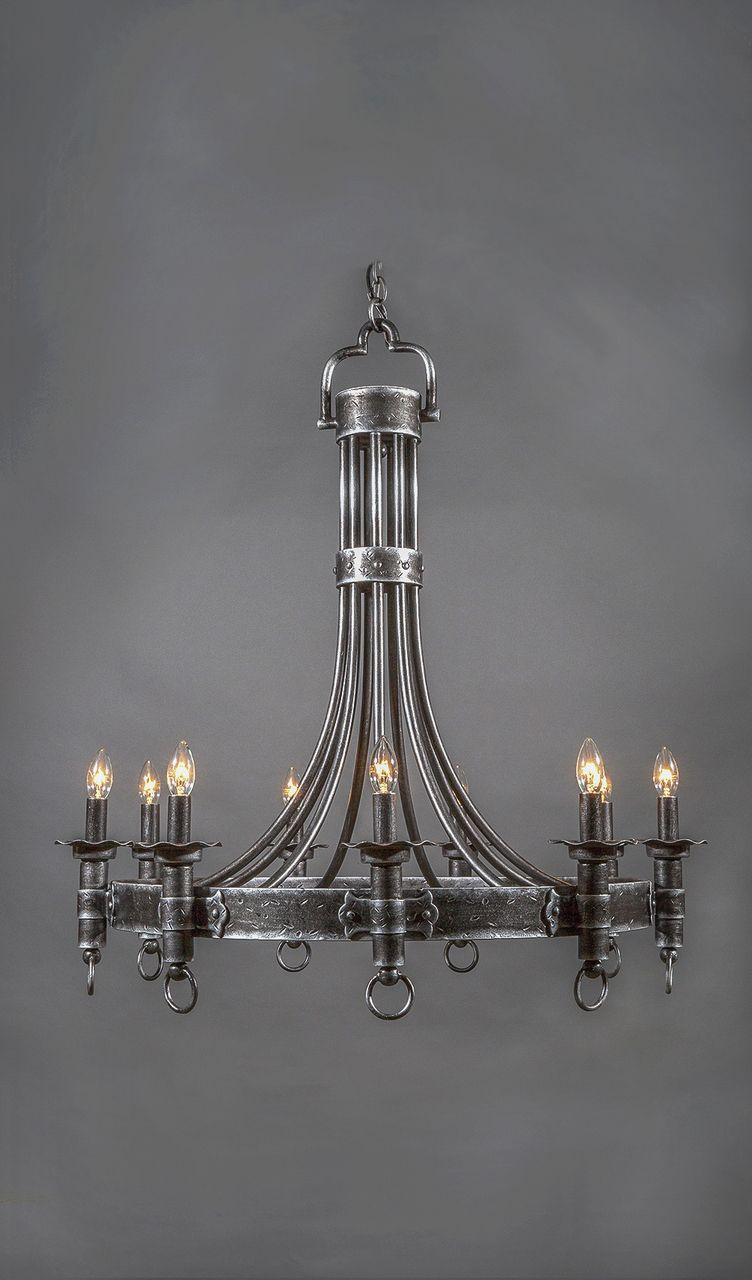 Image 1 With Images Iron Chandeliers Iron Lighting Wrought
