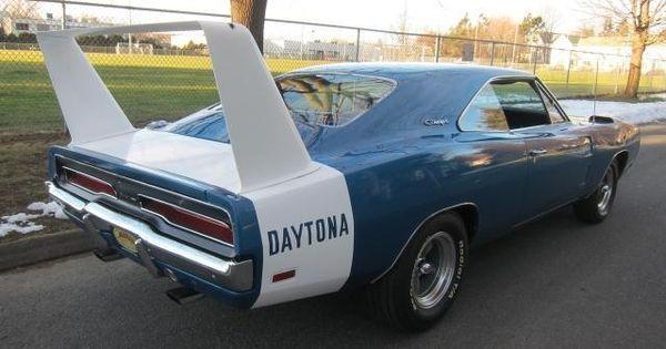 Blue 1969 Dodge Charger Daytona For Sale