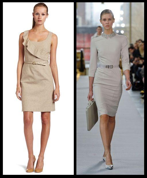O vestido de corte reto, com influência dos anos 60, é aposta neste verão. Ele vem em tecidos mais leves e monocromáticos.