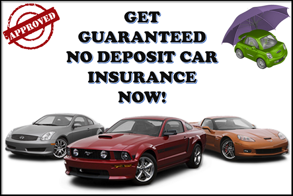 Car Insurance Companies That Dont Require A Deposit Car Insurance - No deposit car insurance