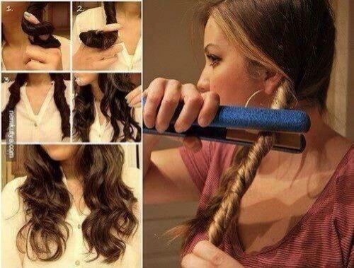 Great Way to Curl Your Hair