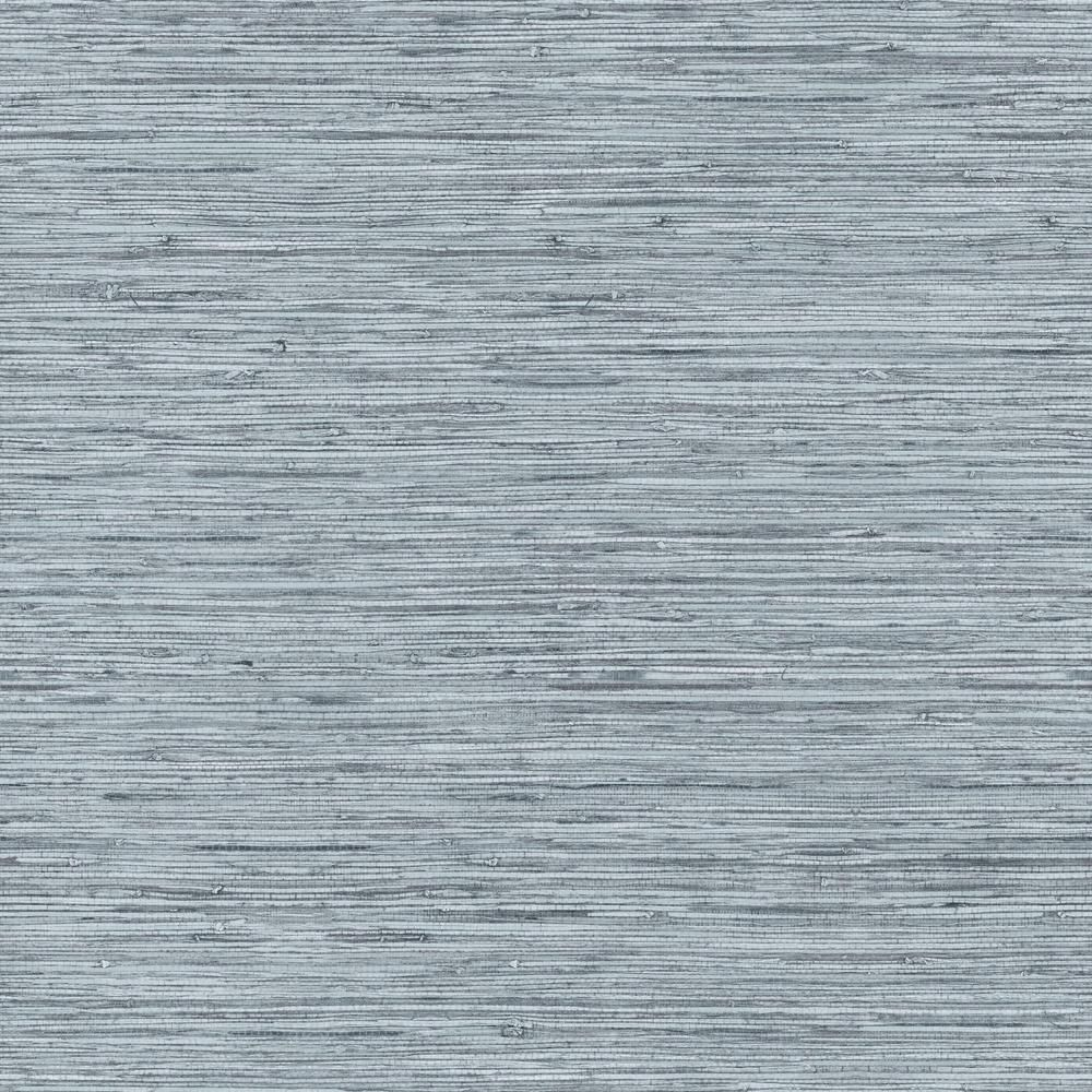 Roommates 28 18 Sq Ft Grasscloth Peel And Stick Wallpaper Blue Grey Peel And Stick Wallpaper Grasscloth Wallpaper Roll