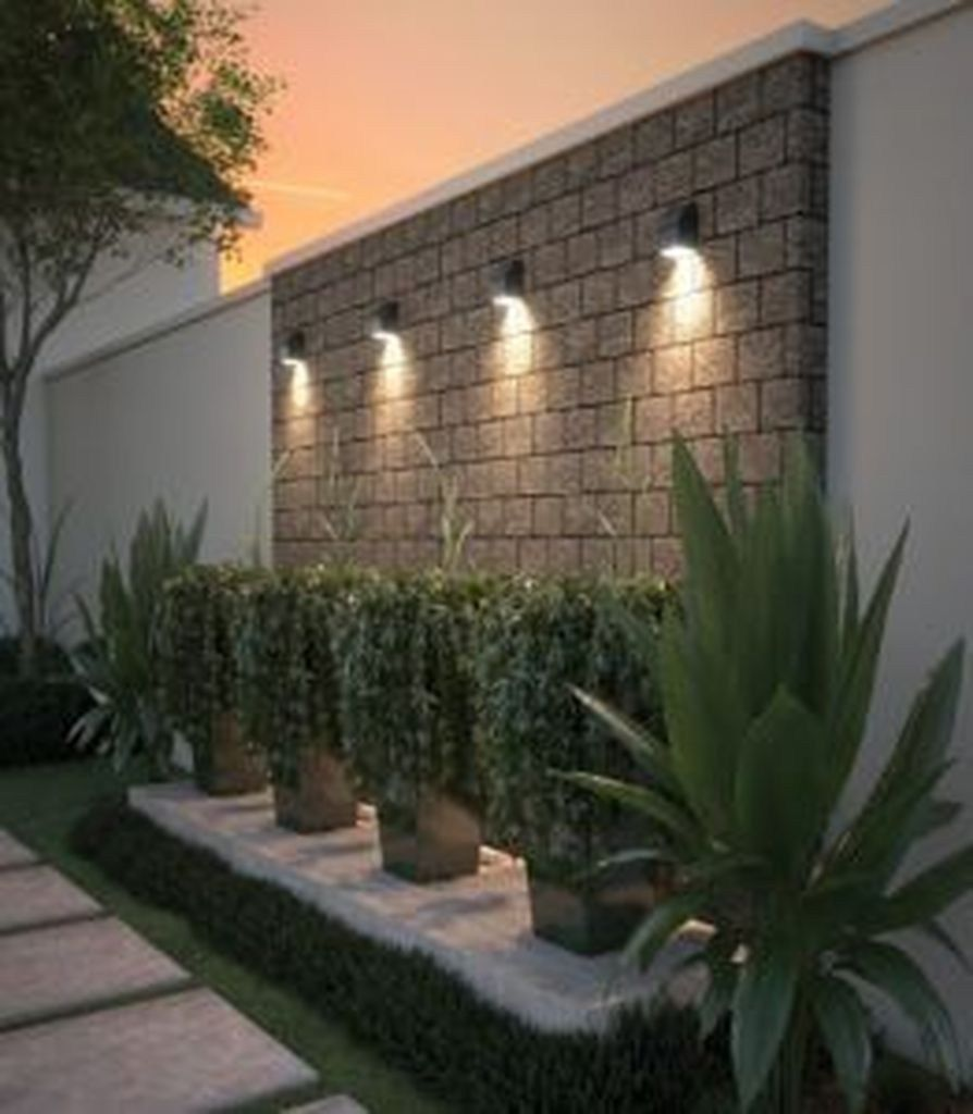28 Gorgeous Front Fence Lighting Ideas To Apply Now Outdoor