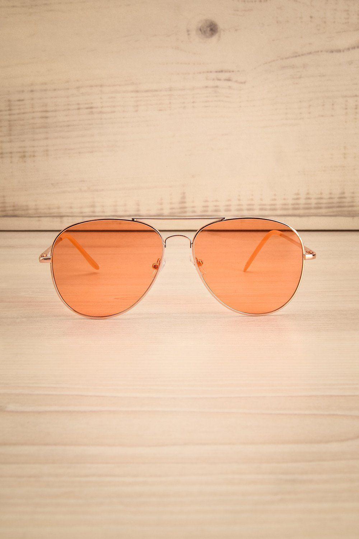 9d1f11e76f13 Grabow Orange  lapetitegarconne  orange  sunglasses  glasses  retro   vintage  accessories