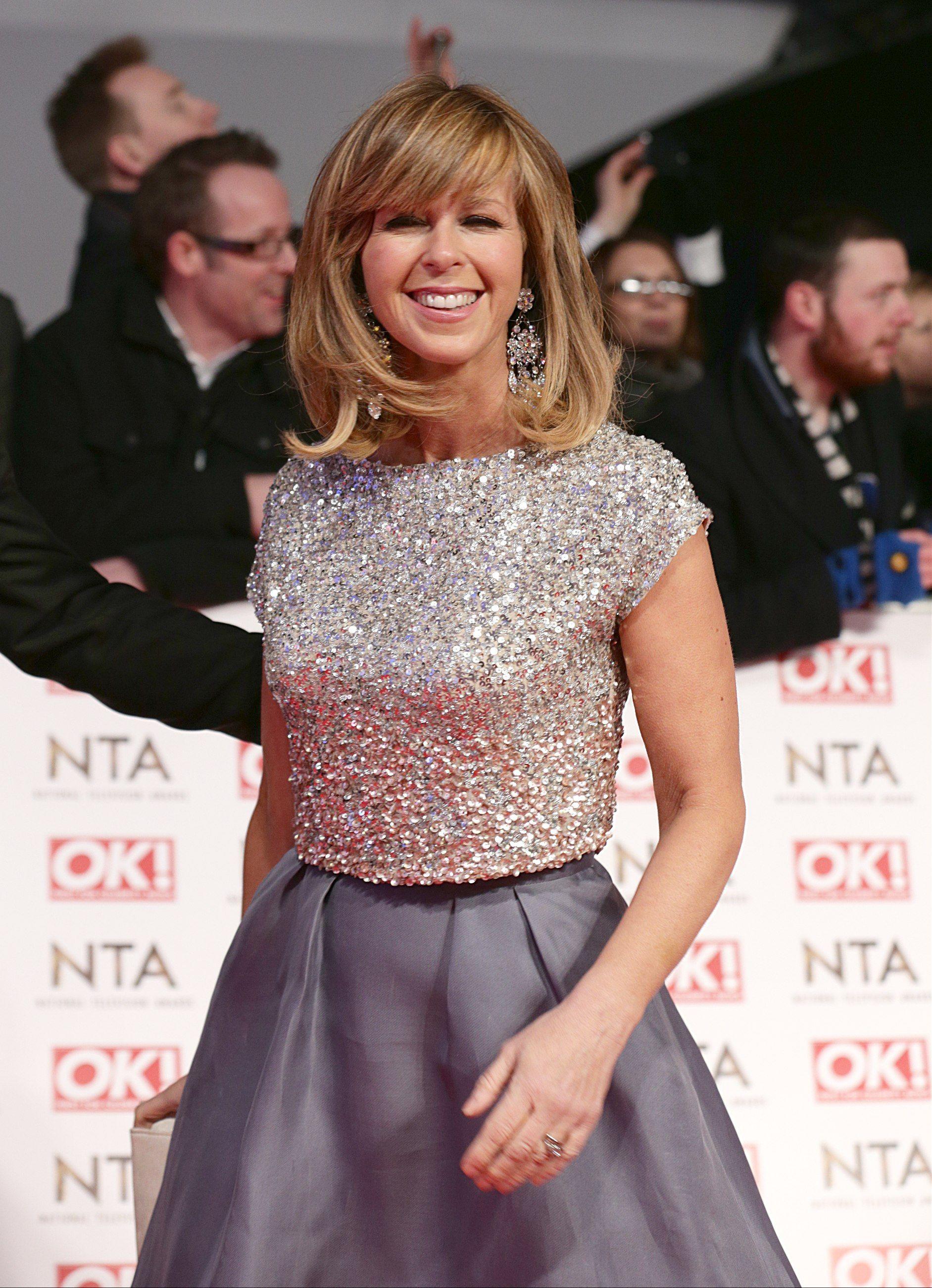 kate garraway – national television awards in london 21.01.15