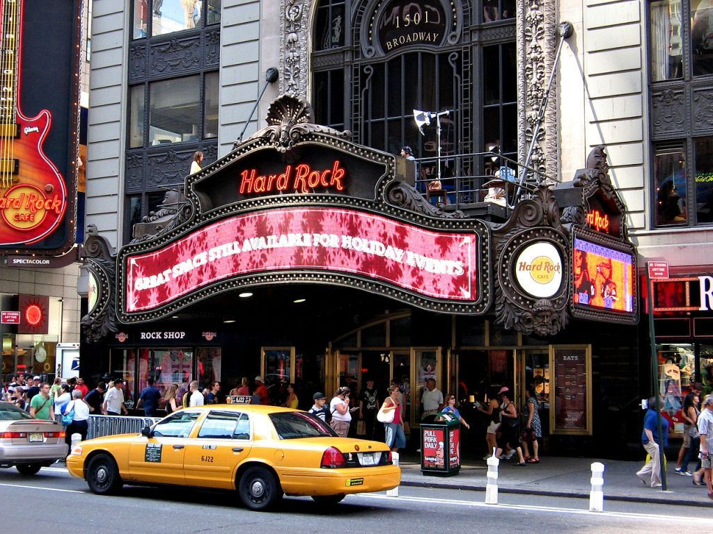 Hard Rock Cafe Nyc Times Square Hardrock Newyork Cafe New York Hard Rock Cafe Nyc Hard Rock