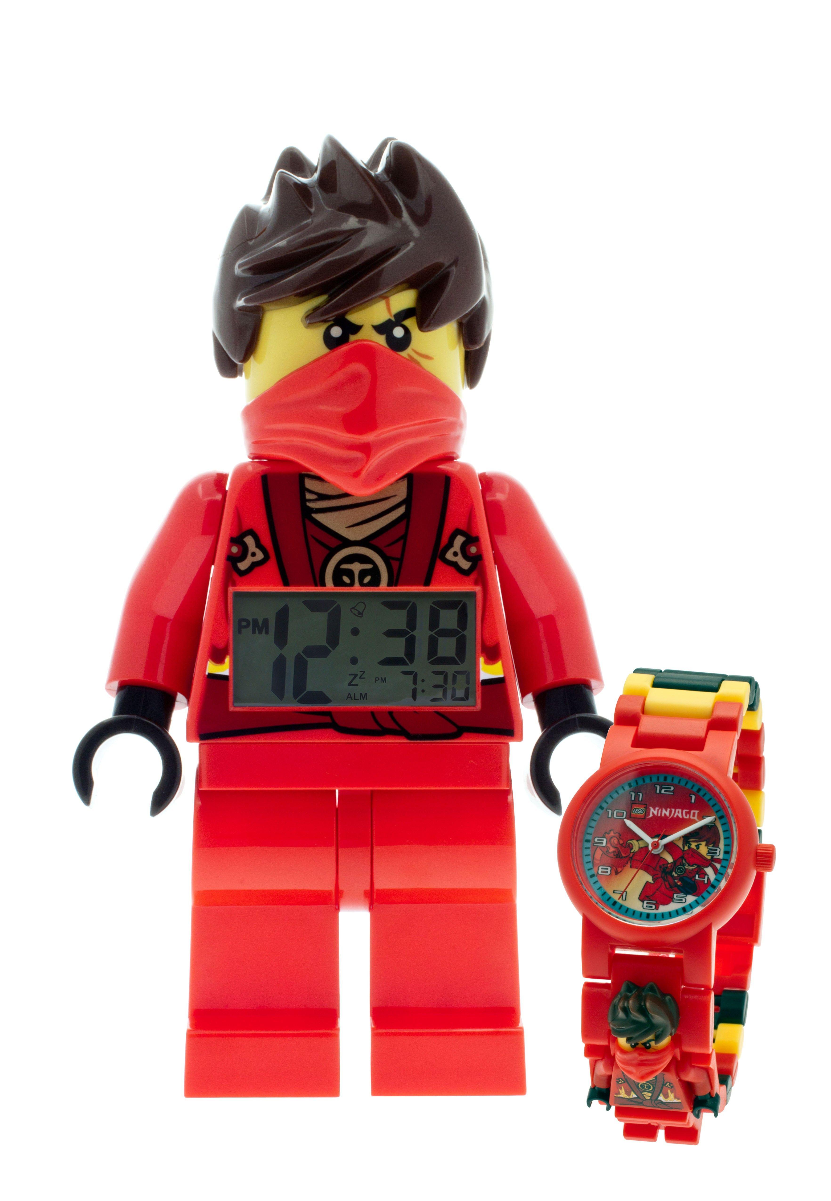 LEGO Ninjago Rebooted Kai clock and watch bundle   Lego