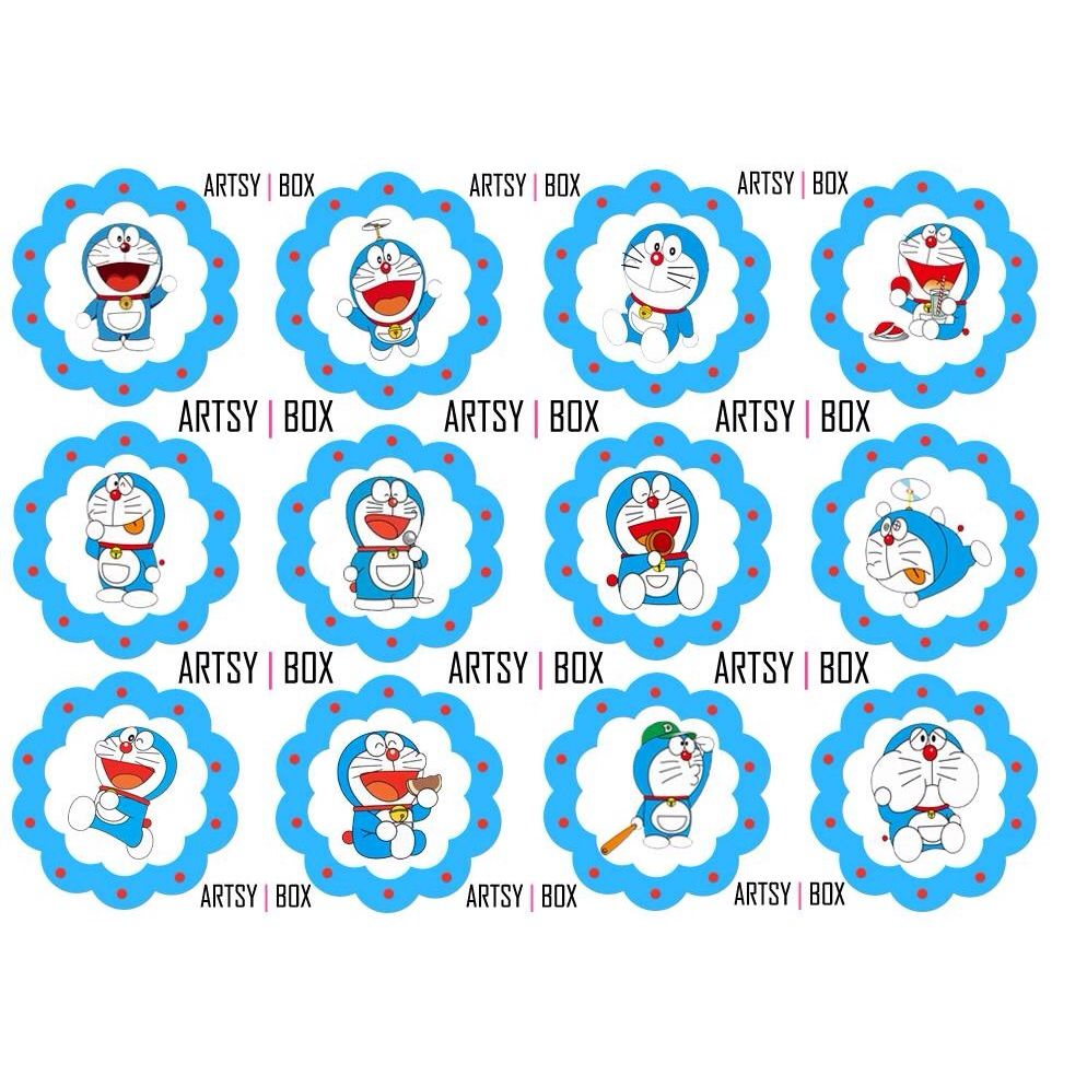 Doraemon Theme Toppers