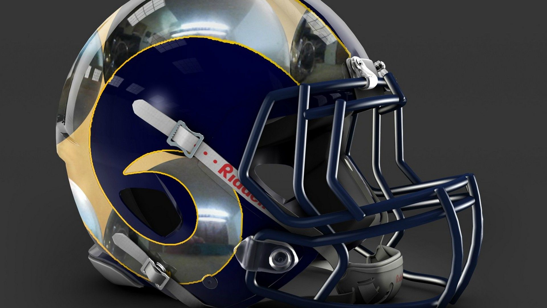 Los Angeles Rams For PC Wallpaper Nfl football helmets