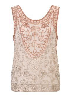 PREMIUM Embellished Shell Top