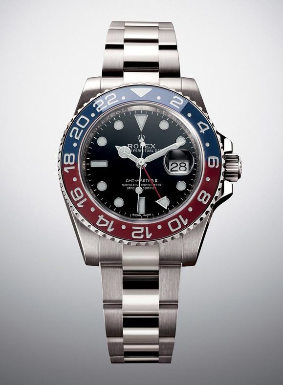 Rolex Oyster Perpetual Gmt Master Ii Oyster Revives Its Iconic Watch Now With A Ceramic Pepsi Bezel Orologi Rolex Orologio Orologi Da Uomo