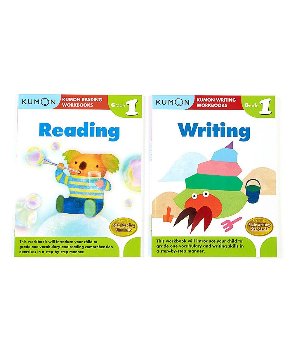 Kumon Publishing Grade 1 Writing & Reading Workbooks - Set of Two ...