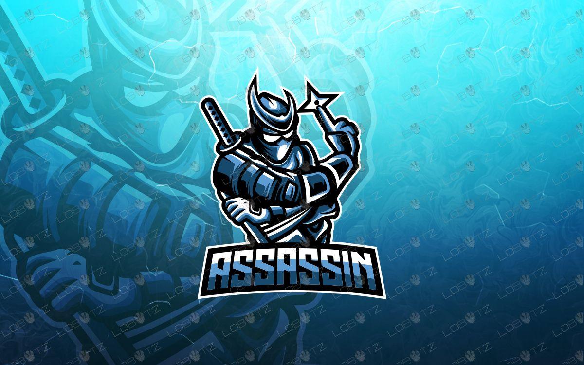Ninja esports logo ninja mascot logo in 2020 Ninja logo
