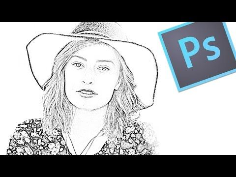 Convertir Una Foto A Dibujo A Lapiz Con Adobe Photoshop Youtube Photoshop Foto En Dibujo Fotos