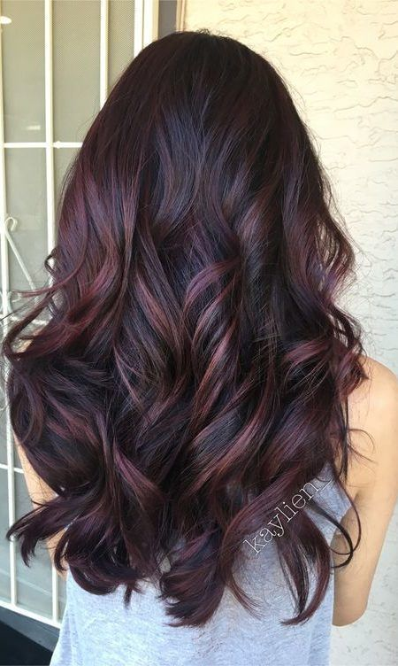 Violette Haarfarbe Ideen Violette Haarfarbe Ideen Hair Color Ideas hair color ideas for black hair