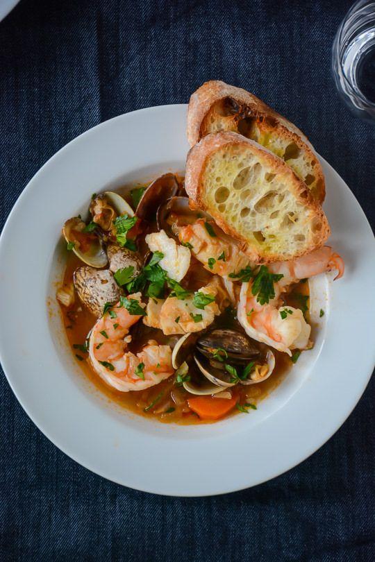 30 minute seafood stew #seafoodstew