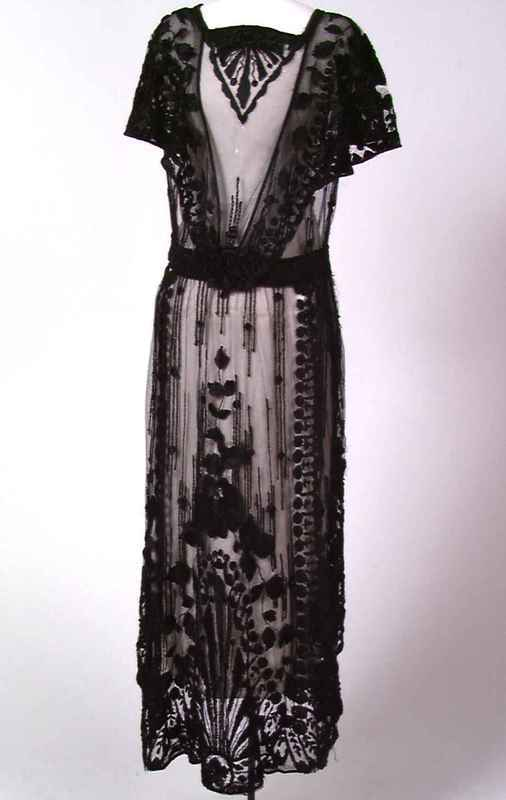Evening Dress - 1910's - Norsk Folkemuseum, Oslo, Norway - @Mlle