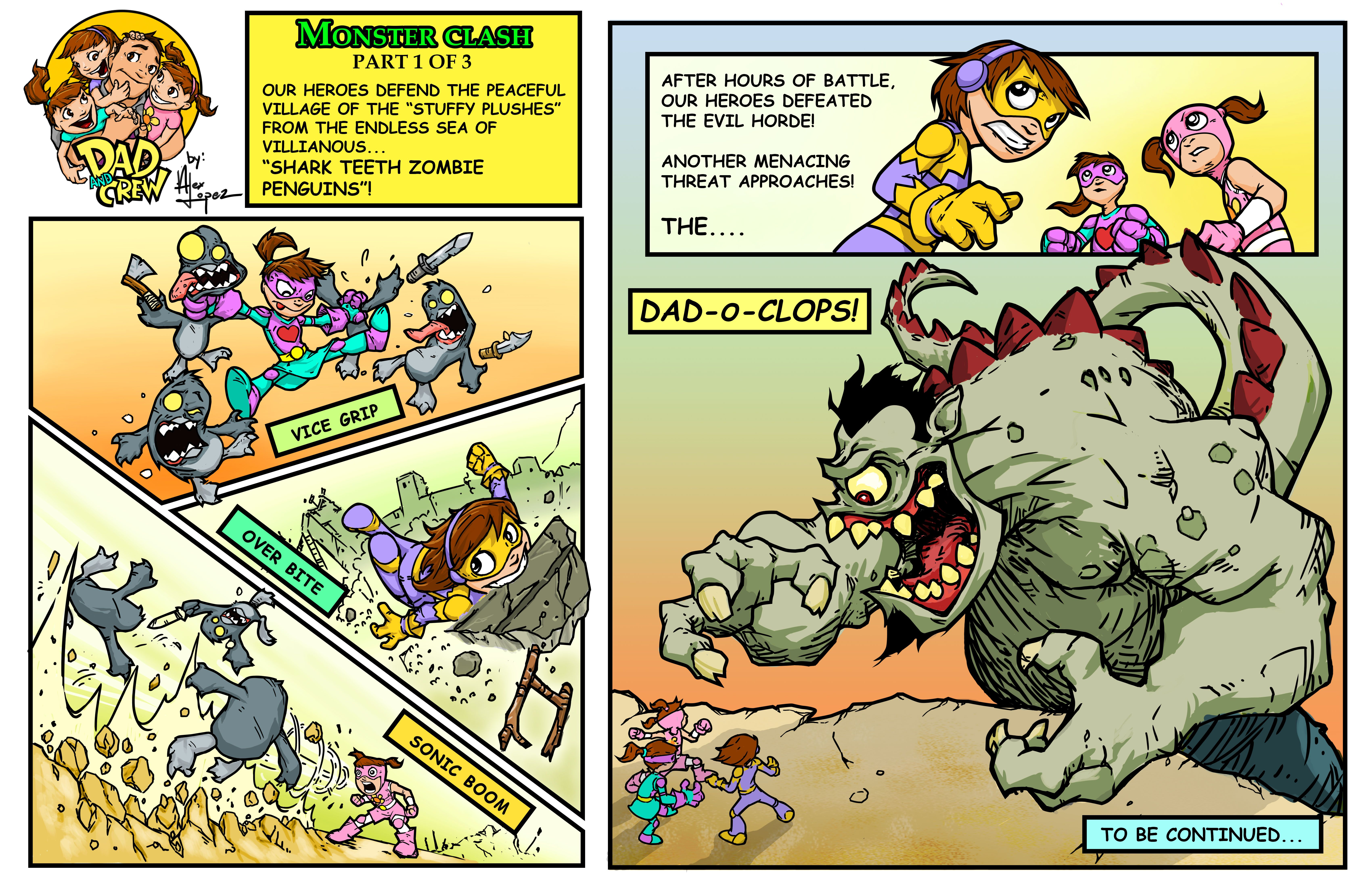 Monsters Bash Part 1of 3