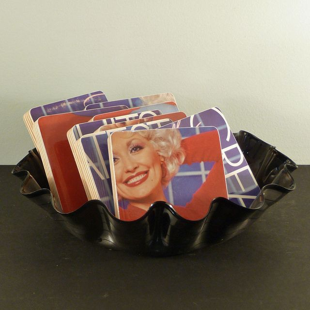 Dolly Parton Basket of Coasters   Flickr - Photo Sharing!
