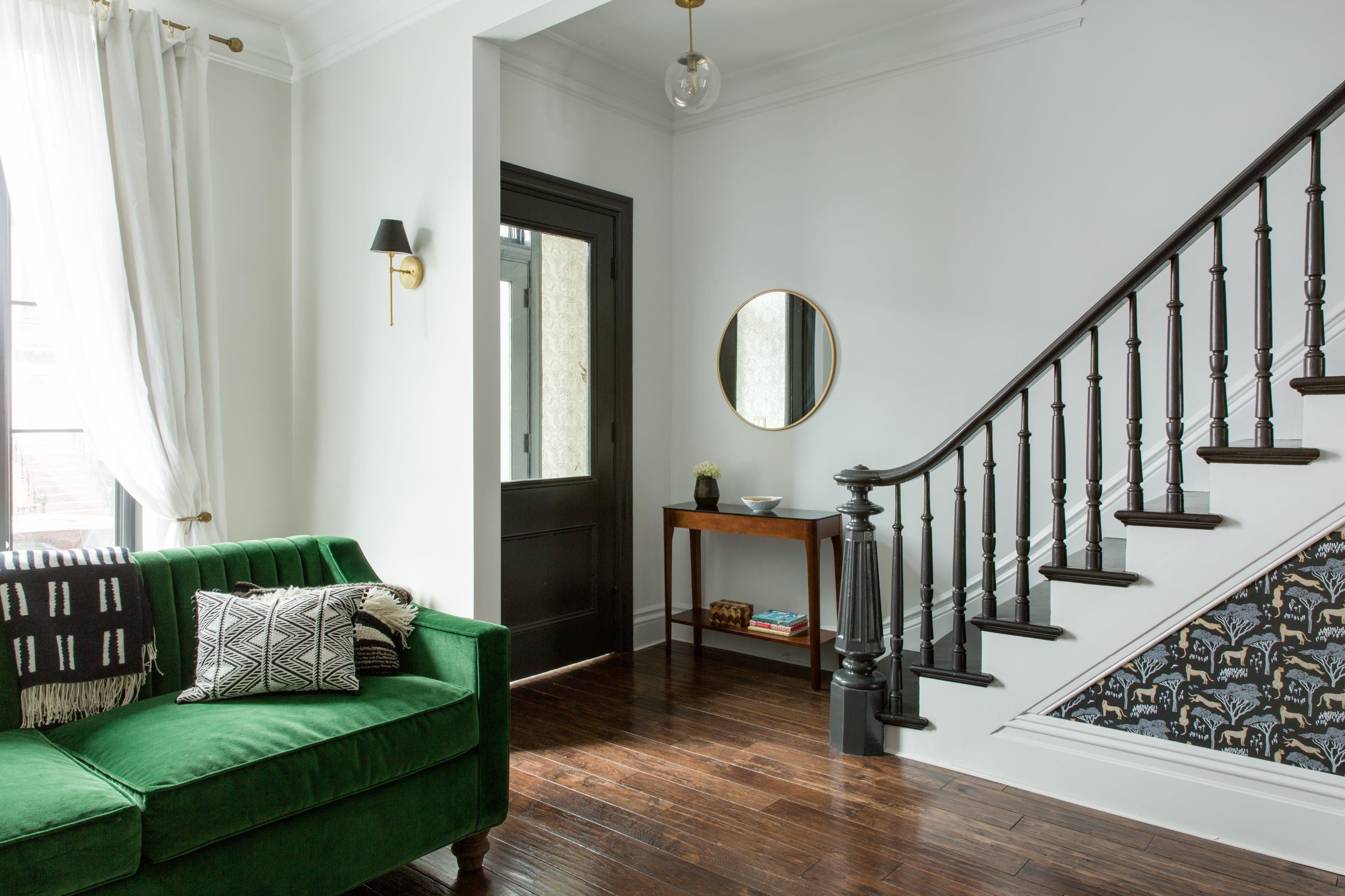 A Classic Brooklyn Brownstone Gets A Bold, Modern Face Lift