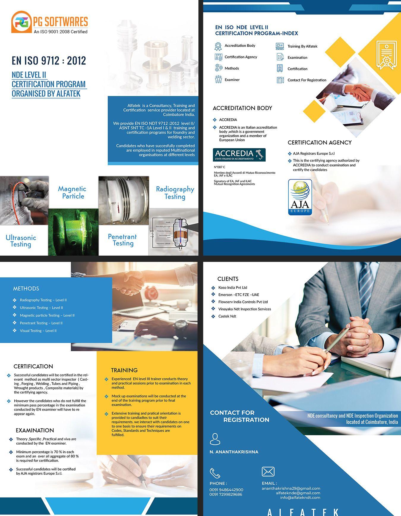 Consultancy, Training Company - Brochure Design #brochure #design