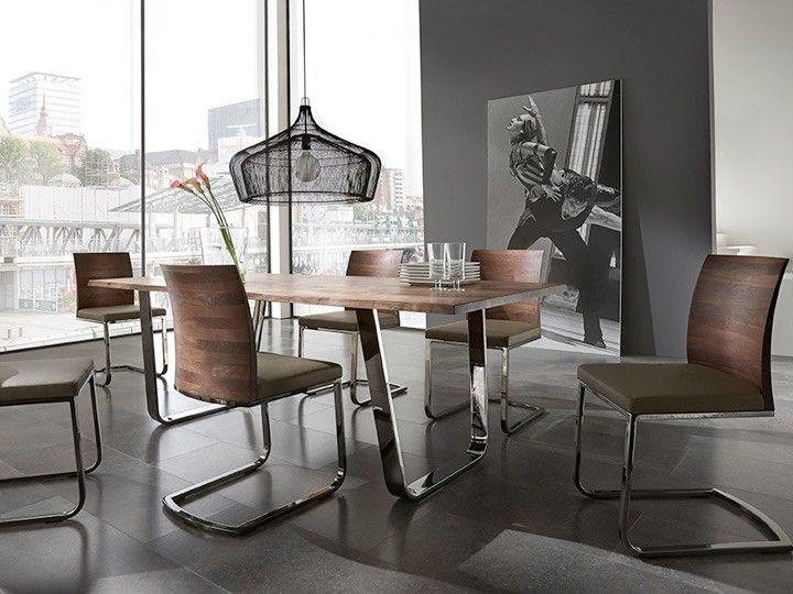 saverne stuhl esszimmer büro freischwinger zweigl | stühle, Esszimmer dekoo