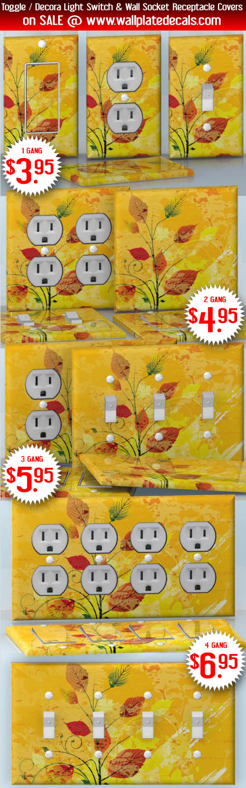 DIY Do It Yourself Home Decor - Easy to apply wall plate wraps ...