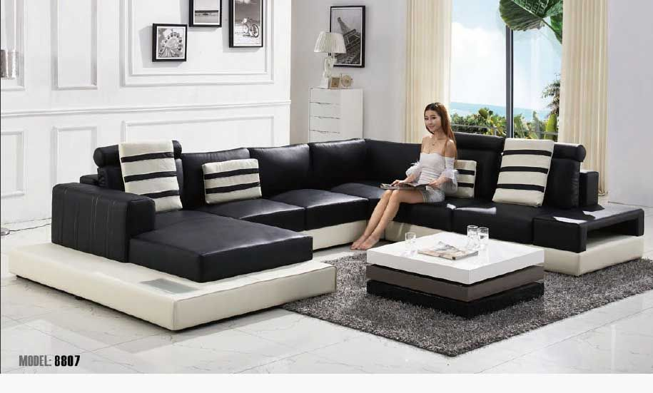 Black And White Sofa Set Designs For Modern Living Room Interiors 10 New Catalogue Design Ideas Furniture
